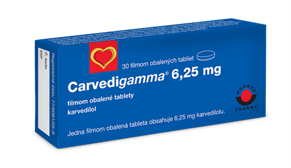 Carvedigamma® 6,25 mg