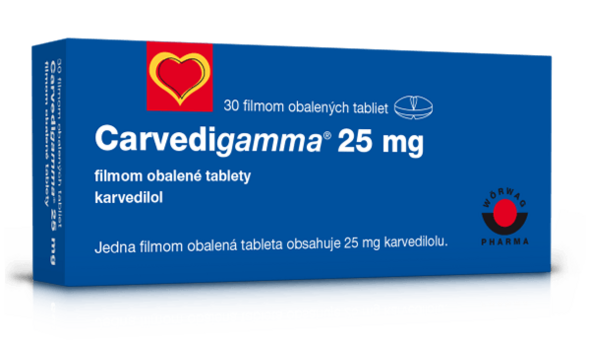Carvedigamma® 25 mg